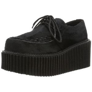 Bont 7,5 cm CREEPER-202 creepers schoenen met plateauzolen