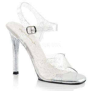 Glitter 11,5 cm Fabulicious GALA-08MMG sandalen met naaldhak