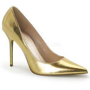 Gold Matte 10 cm CLASSIQUE-20 Pumps High Heels for Men