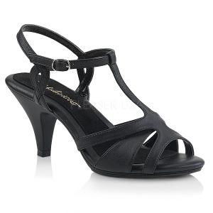 Kunstleer 8 cm Fabulicious BELLE-322 sandalen met lage hak