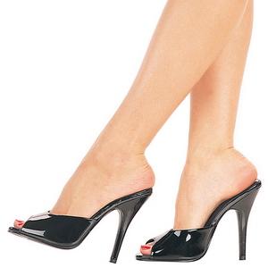 Lakleer 13 cm Pleaser SEDUCE-101 Hoge Dames Slippers