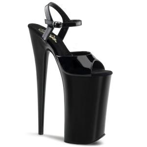 Lakleer 25,5 cm BEYOND-009 super hoge hakken - extreem high heels plateau