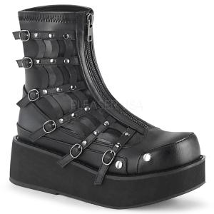 Leatherette 5,5 cm SPRITE-100 demonia ankle boots platform