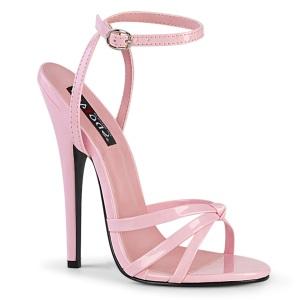 Rosa 15 cm DOMINA-108 high heels schoenen voor travestie
