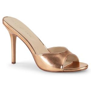 Rose Goud 10 cm CLASSIQUE-01 dames slippers met hak