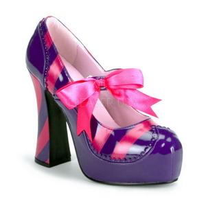 Roze Purper 13 cm KITTY-32 damesschoenen met hoge hak