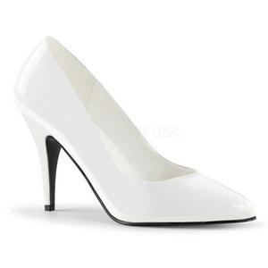 White Shiny 10 cm VANITY-420 Pumps High Heels for Men