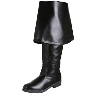 Zwart Kunstleer 4 cm MAVERICK-2045 Overknee Laarzen voor Heren