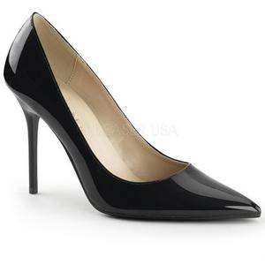 Zwart Lak 10 cm CLASSIQUE-20 Pumps Schoenen met Naaldhakken