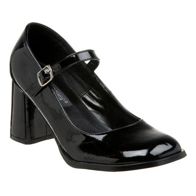 28bd40e1452 Black Shiny GOGO50 B FUNTASMA big size High Heel Pumps for Men women shoes  for Men travesty shoes crossdresser Pumps