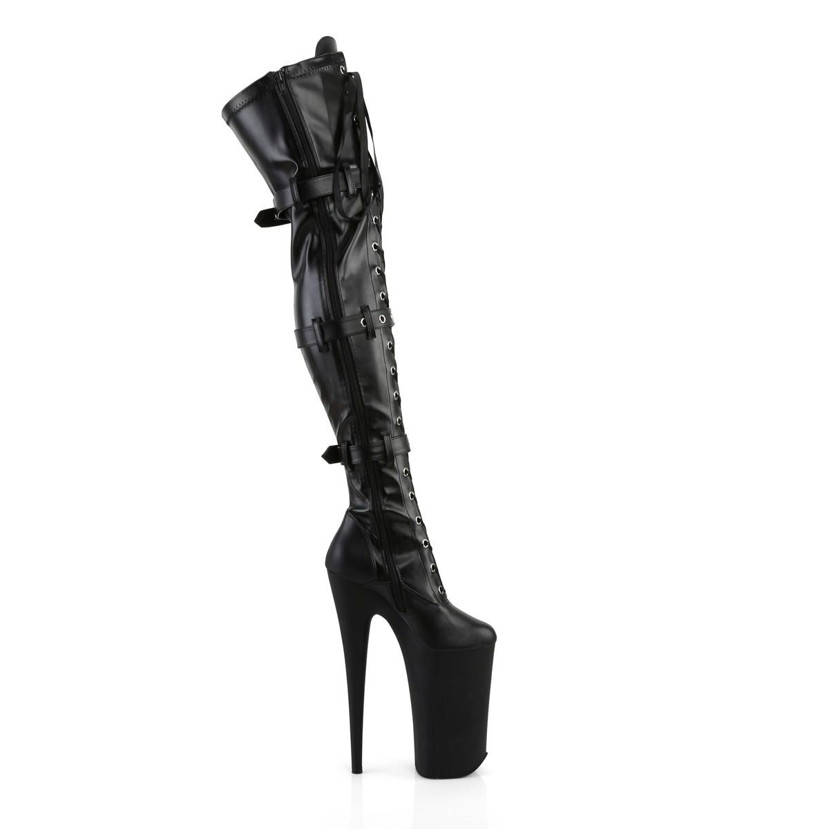 thigh high vegan boots