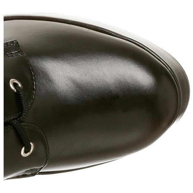Glimmend 13 cm ELECTRA 2042 plateau laarzen dames met gespen