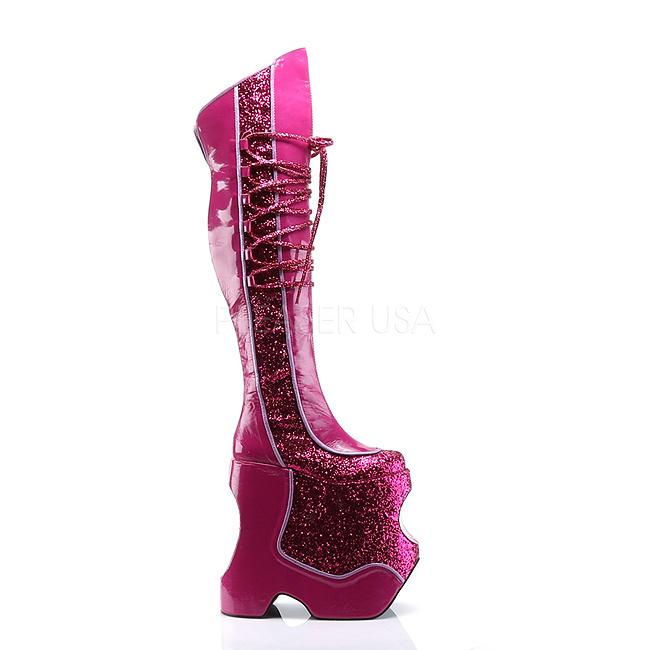 Pink Glitter 22 cm FABULOUS-3035 Thigh