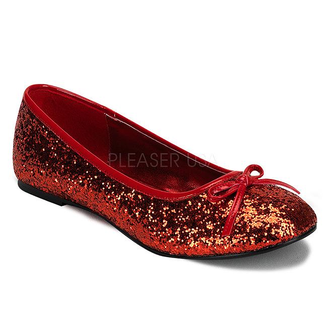 Chaussures De Paillettes Rouges DaEioXM1B