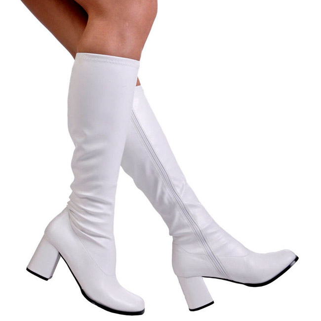 00bad0dbdbe White Matte GOGO300 W PU FUNTASMA big size Womens Boots High Heeled Womens  Boots for Men travesty Boots crossdresser Boots