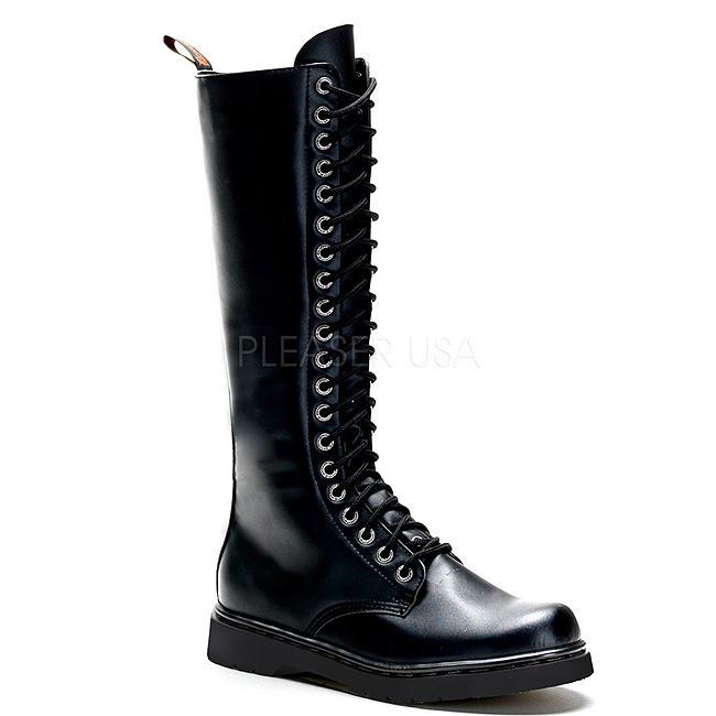 Bottes Noires À Lacets 2NdXkn