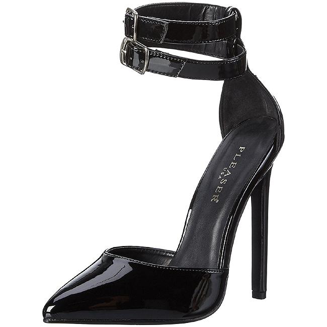 Femmes Sexy-pleaser 36 Pompes - Noir - 40 Eu QTzKpRJGR
