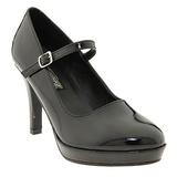 Black 10 cm CONTESSA-50 Mary Jane Pumps Shoes