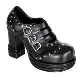 Black 10 cm VAMPIRE-08 lolita shoes gothic womens platform shoes