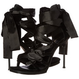 Black 11,5 cm CHIC-26 High Heeled Stiletto Sandal Shoes