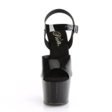Black 18 cm ADORE-708N Platform High Heels Shoes
