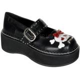 Black 5 cm EMILY-221 lolita shoes gothic womens platform shoes