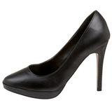 Black Matte 11 cm BLISS-30 Women Pumps Shoes Stiletto Heels