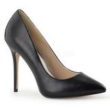Black Matte 13 cm AMUSE-20 Pumps High Heels for Men
