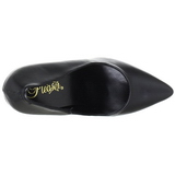 Black Matte 13 cm SEDUCE-420 pointed toe pumps high heels