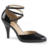 Black Patent 10 cm DREAM-408 big size pumps shoes