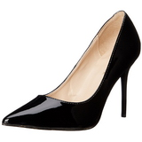 Black Shiny 10 cm CLASSIQUE-20 Pumps High Heels for Men