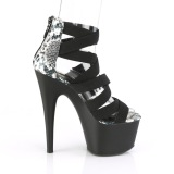 Black elasticated band 18 cm ADORE-748SP pleaser womens shoes