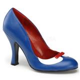 Blauw 10,5 cm SMITTEN-05 damesschoenen met hoge hak