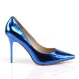 Blauw Metalen 10 cm CLASSIQUE-20 Pumps Schoenen met Naaldhakken