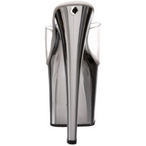 Chroom Transparant 19 cm TABOO-701 Hoge Dames Slippers
