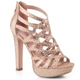 Copper 11,5 cm Pleaser SELENE-24 Womens High Heel Sandals