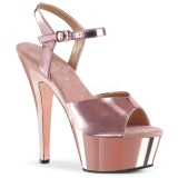 Copper 15 cm KISS-209 Platform High Heels Shoes