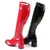 Dual Colored 7,5 cm Funtasma GOGO-300HQ Women Knee Boots
