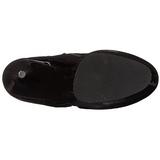 Gelakt 15,5 cm DELIGHT-4000 overknee laarzen met plateauzool