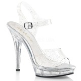 Glitter 13 cm Fabulicious LIP-108MMG high heeled sandals
