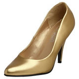 Gold Matte 10 cm VANITY-420 Pumps High Heels for Men