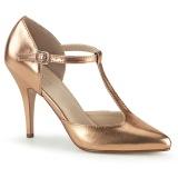 Gold Rose 10,5 cm VANITY-415 High Heel Pumps for Men