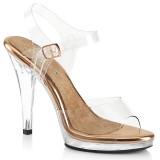Gold Rose 11,5 cm FLAIR-408 Bikini posing high heel shoes fabulicious