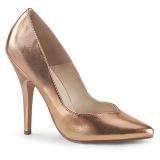 Gold Rose 13 cm SEDUCE-420V pleaser pumps with high heels