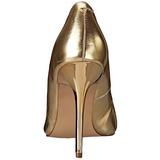 Goud Mat 10 cm CLASSIQUE-20 Pumps met stiletto hakken