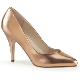 Goud Rose 10 cm VANITY-420 pleaser pumps met puntneus