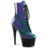 Green Patent 18 cm ADORE-1020SHG Pole dancing ankle boots