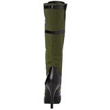 Groen 11,5 cm FUNTASMA ARENA-2022 Dames Laarzen met vetersluiting