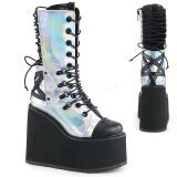 Hologram 14 cm SWING-120 gothic laarzen met plateau