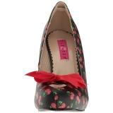 Kers Patroon 11,5 cm PINUP-05 grote maten pumps schoenen